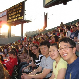 Lab Outing at Fenway - July 15, 2010